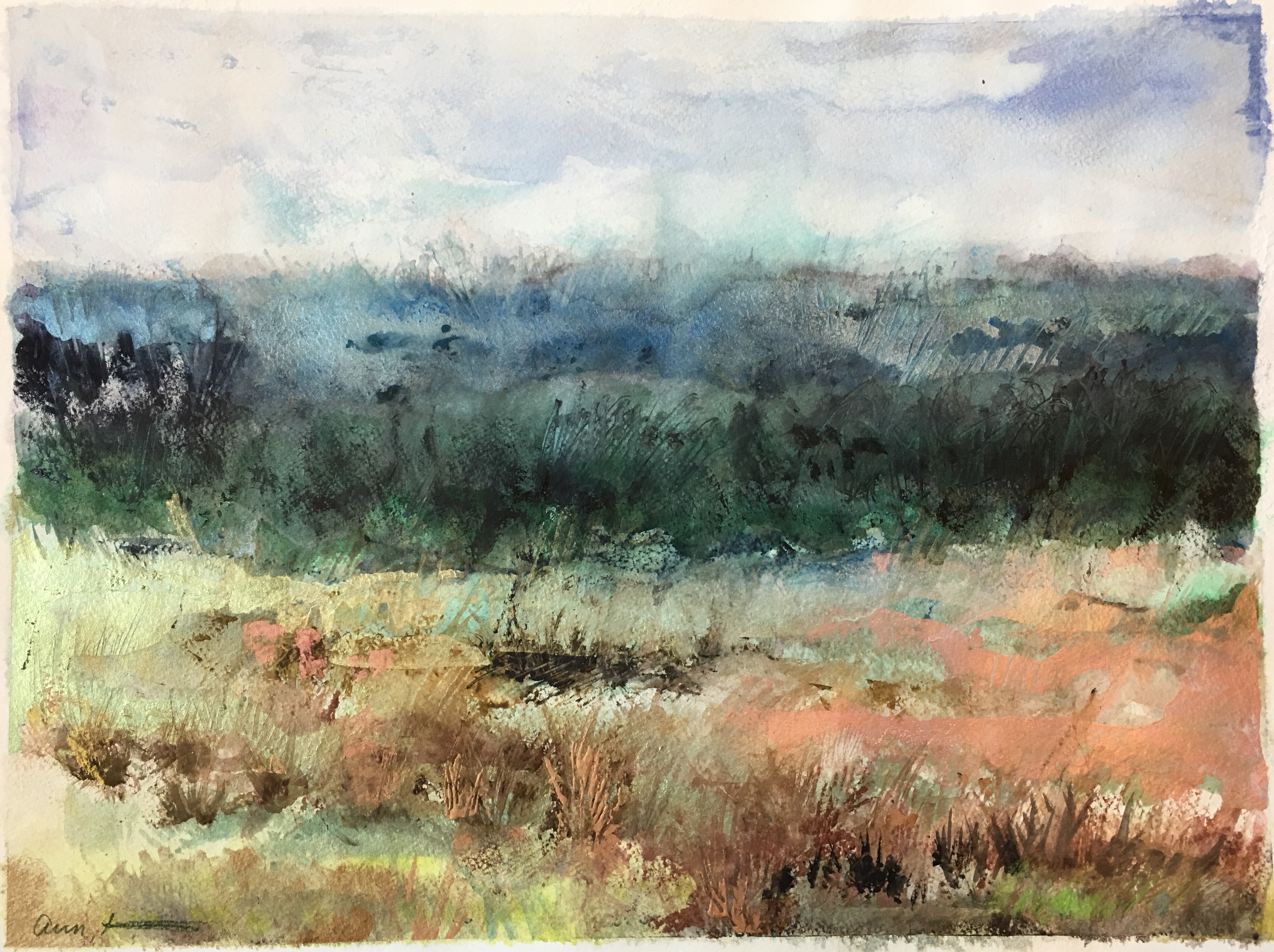 Above the Valley by Ann Stretton