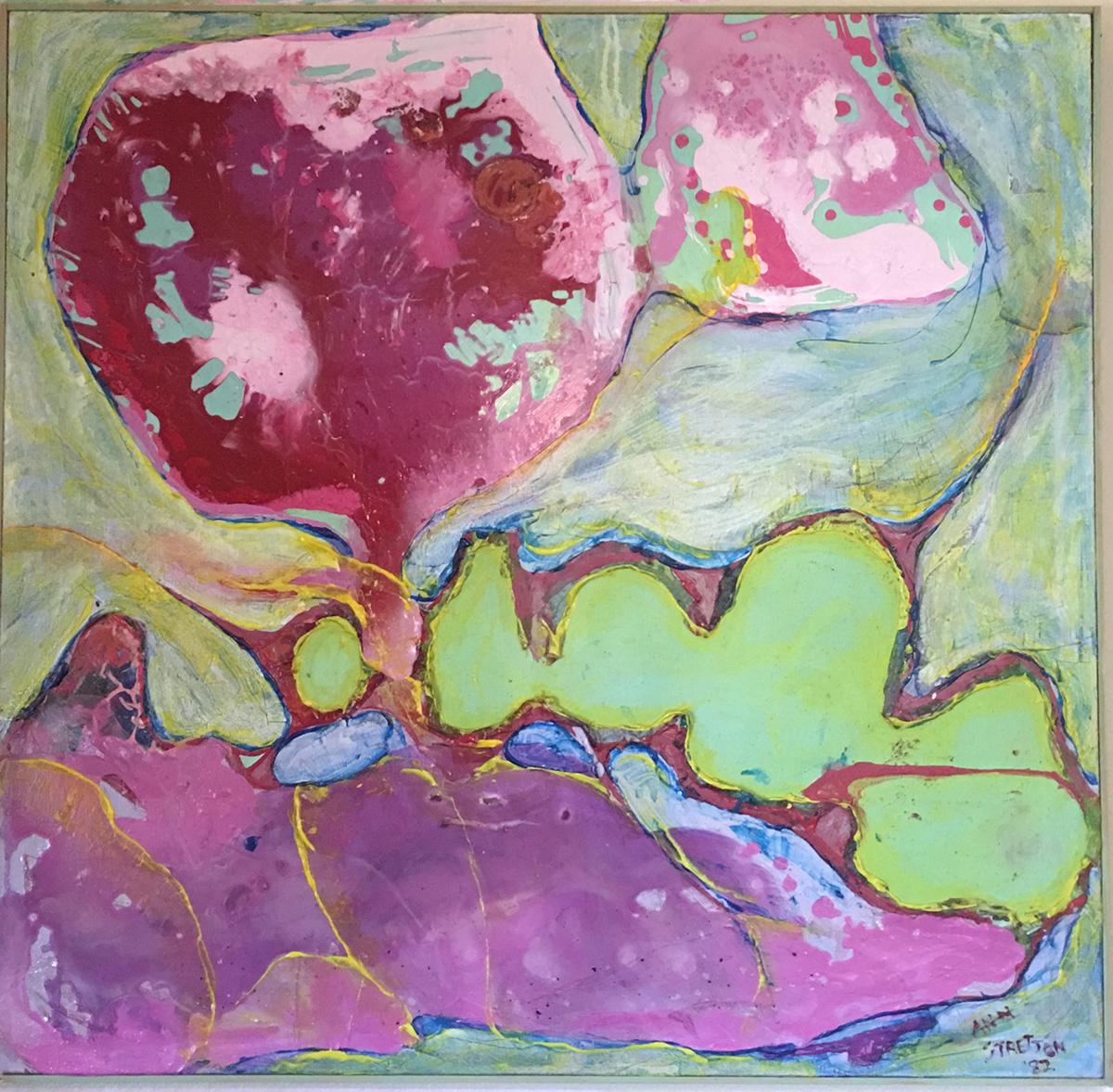 Untitled, Acrylic, 1982, Ann Stretton