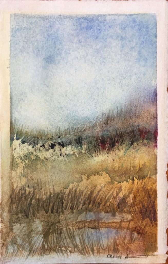 Autumn Awaits by Ann Stretton