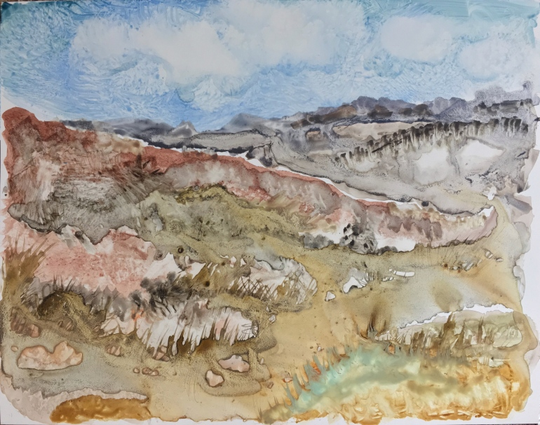In the Foothills by Ann Stretton