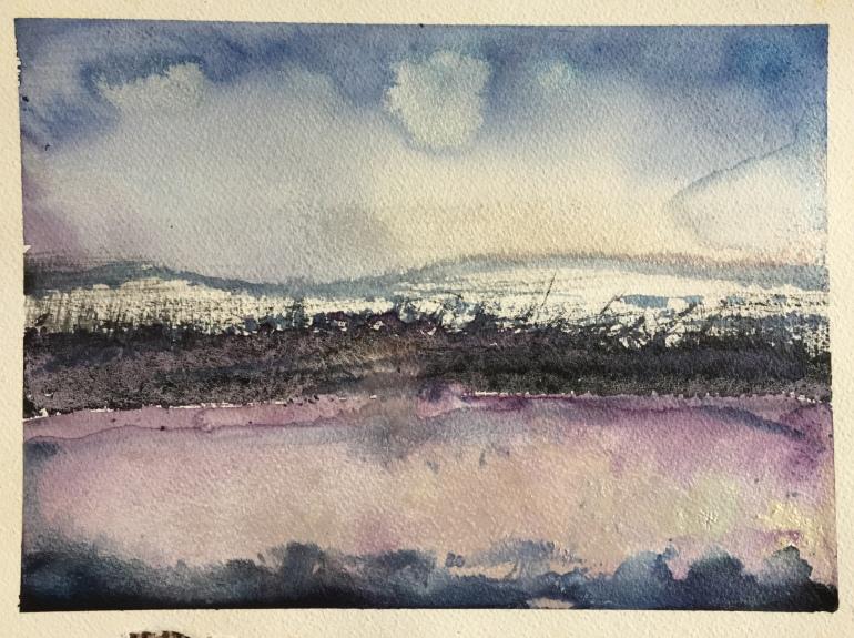 Moundinsnow by Ann Stretton
