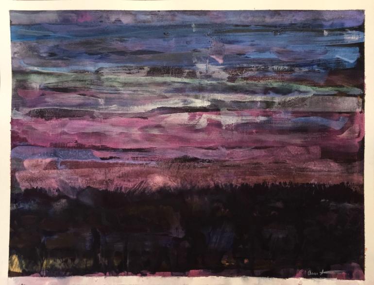 Night Striations by Ann Stretton