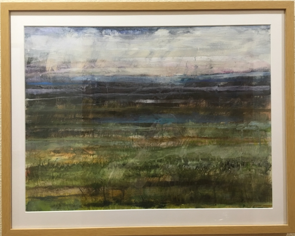 Northern Waters-framed by Ann Stretton