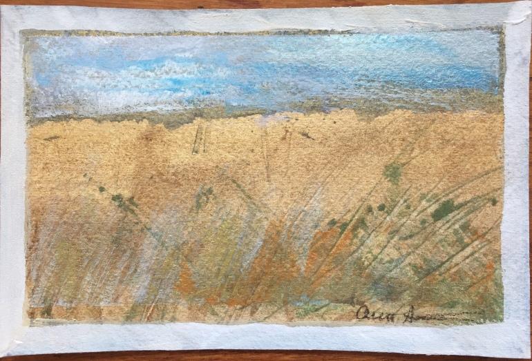 Postcard from Nebraska by Ann Stretton