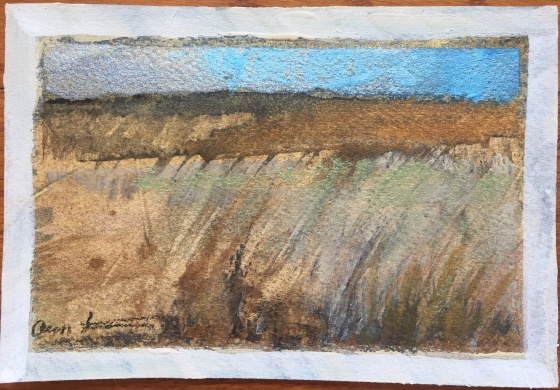 Postcard from the Drought by Ann Stretton