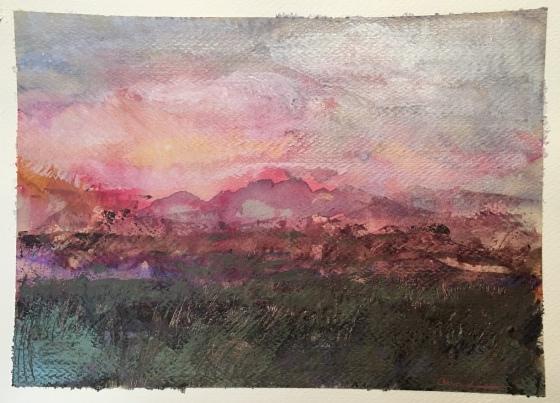 Rubellite by Ann Stretton