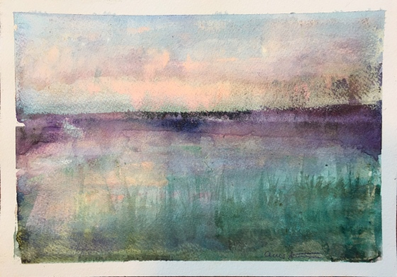Silent Pond by Ann Stretton
