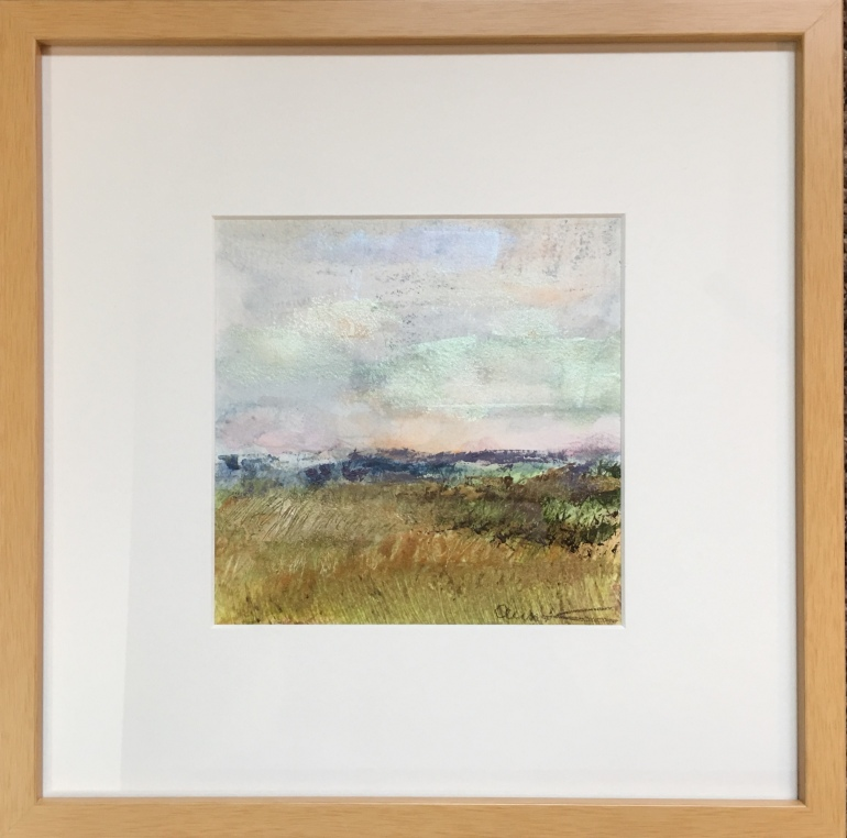 Solitude Plain-framed by Ann Stretton