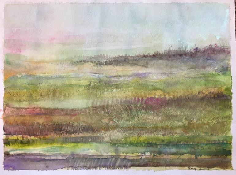 Springrows by Ann Stretton