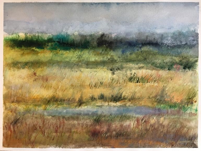 Watering Hole by Ann Stretton