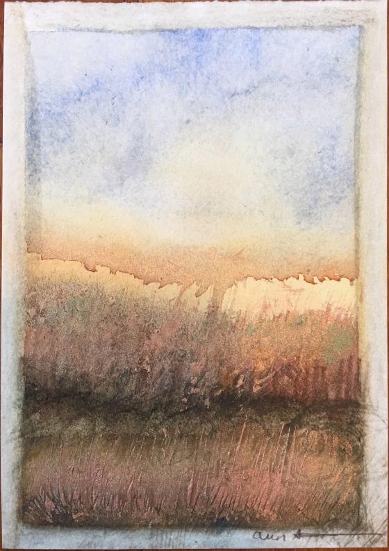 Wheatfield by Ann Stretton