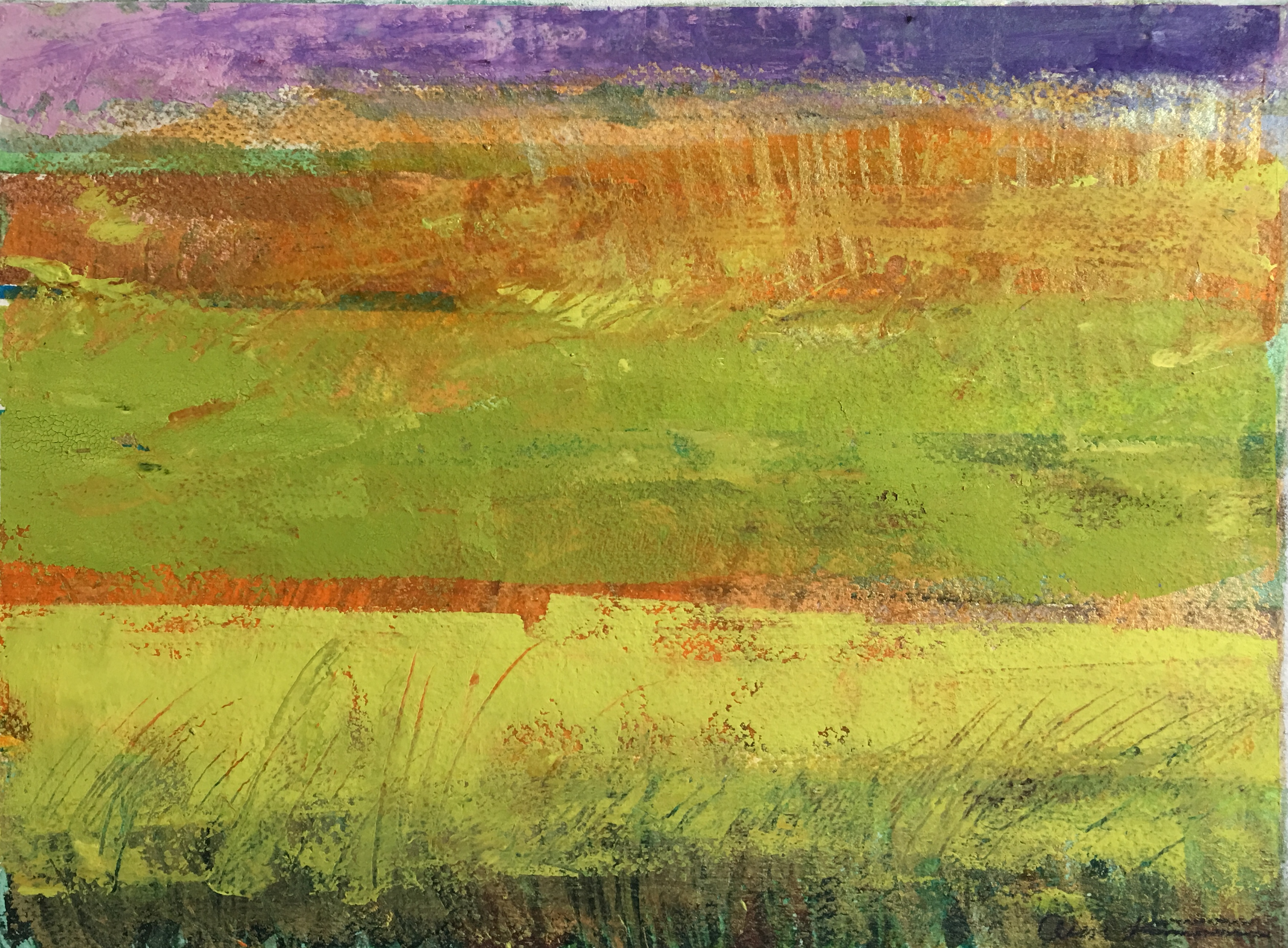 Field of Chartreuse by Ann Stretton