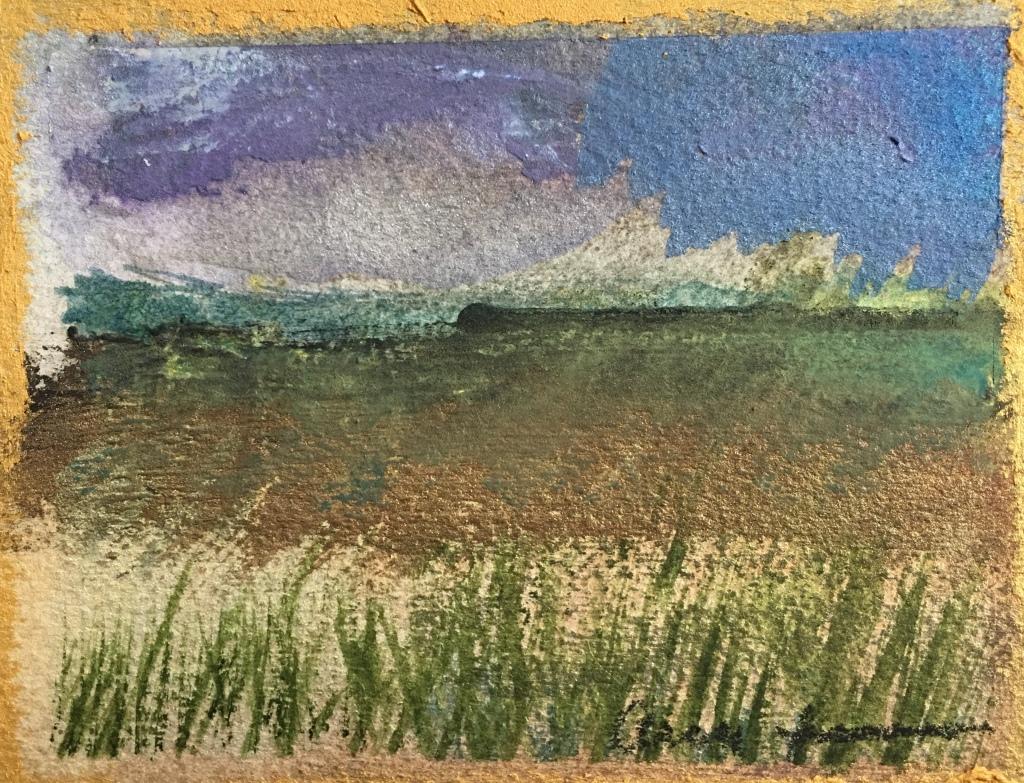 Green Mesa by Ann Stretton
