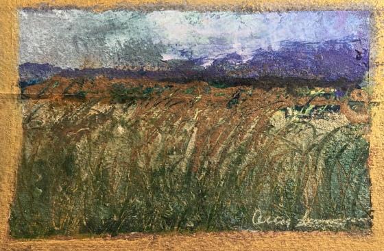 Postcard from Farm by Ann Stretton