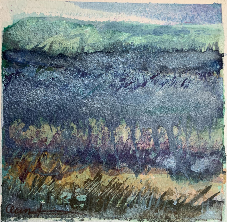 Blue Mountain Meadow by Ann Stretton
