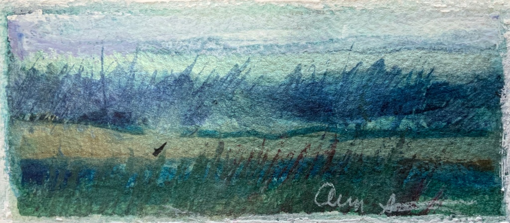Shorewalk from Recurring Dream by Ann Stretton